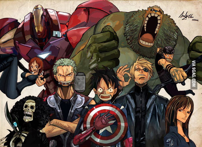 One Piece Avengers!