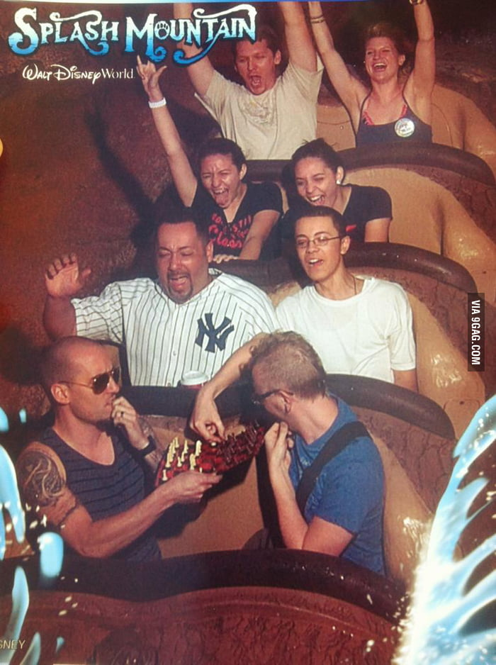 No big deal. Just playing some chess at Splash Mountain.