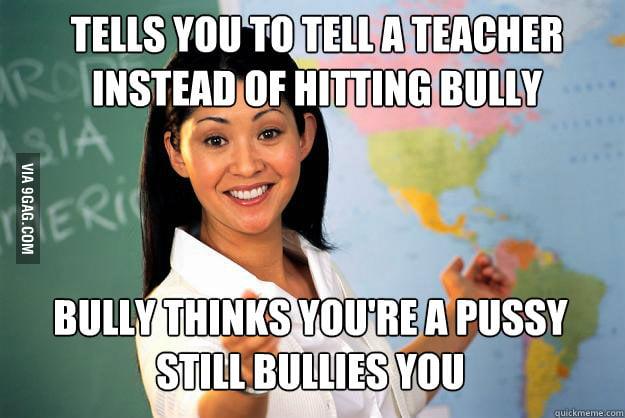 Bullies: Teacher Logic