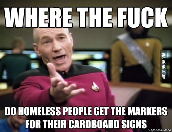 I've always wondered this when I see homeless people.