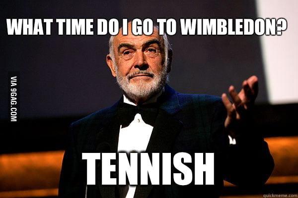 Sean Connery on Wimbledon