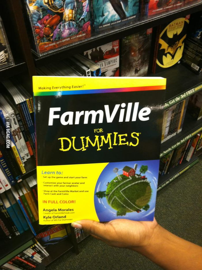 Seriously? FarmVille for Dummies?