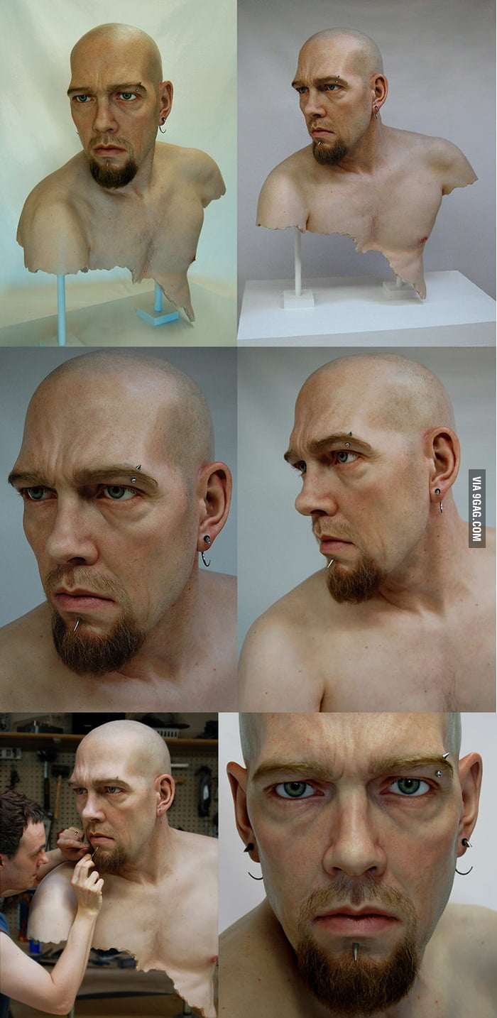 Hyper Realistic Sculpture by Adam Beane
