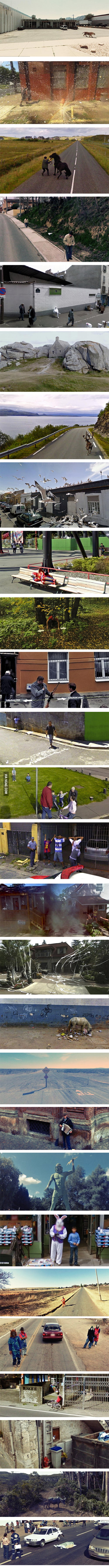 Weird Google Street View!
