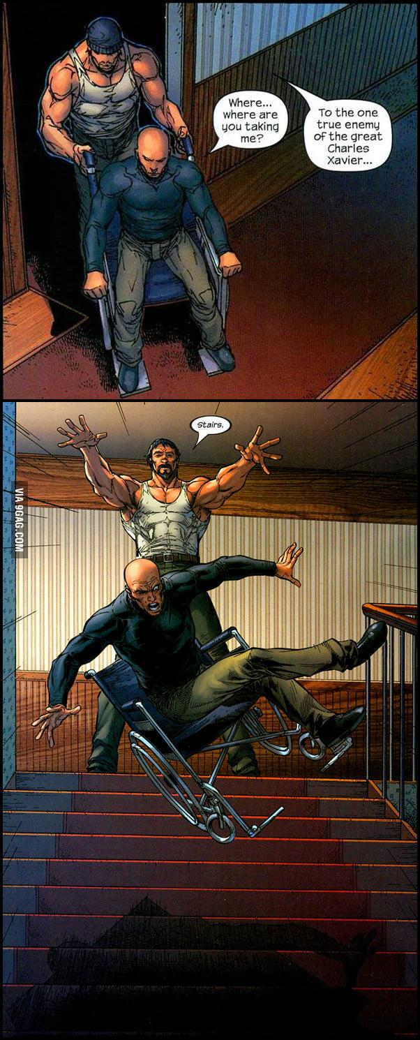 Professor X has ONE weakness!