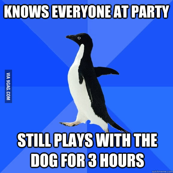 Me at party