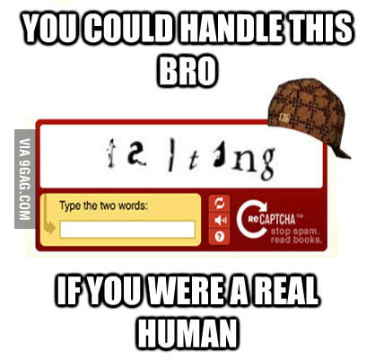 Prove that you are human