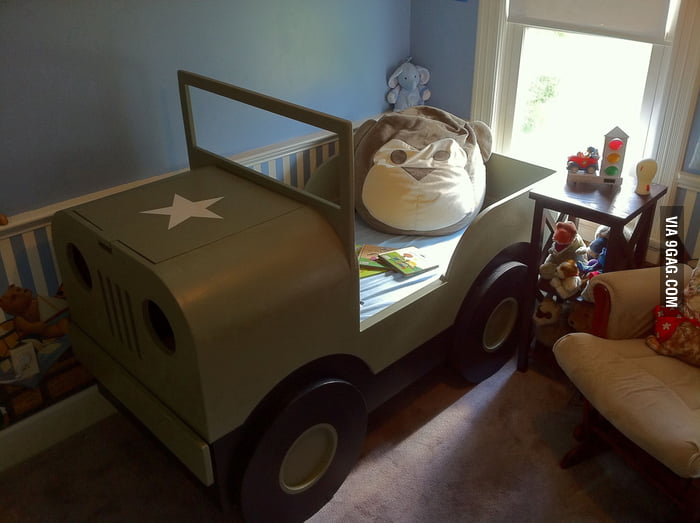 I want a Jeep bed too