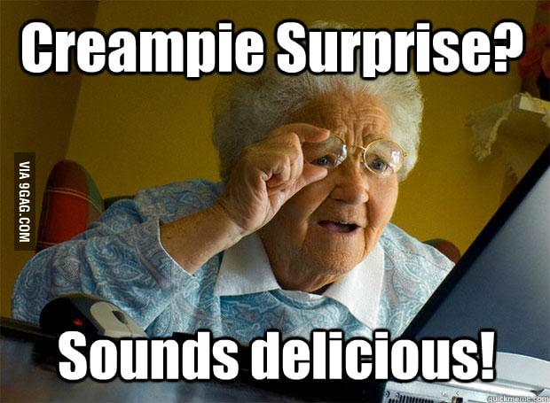 Grandma needs a new recipe