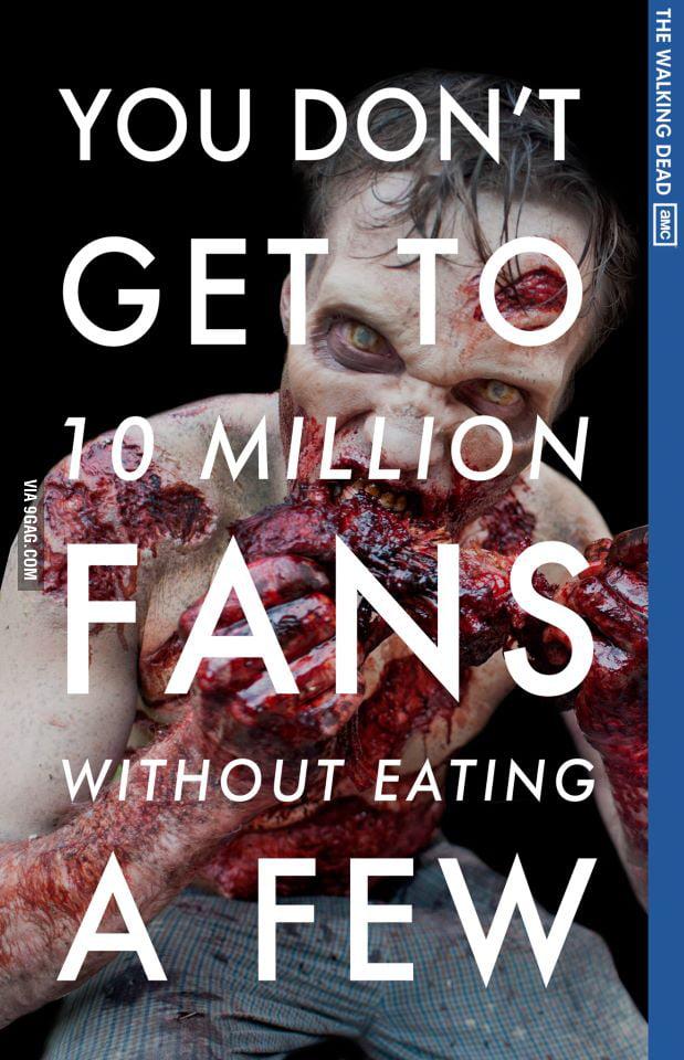 The Walking Dead on Facebook