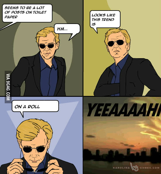 It's time Horatio made a comeback