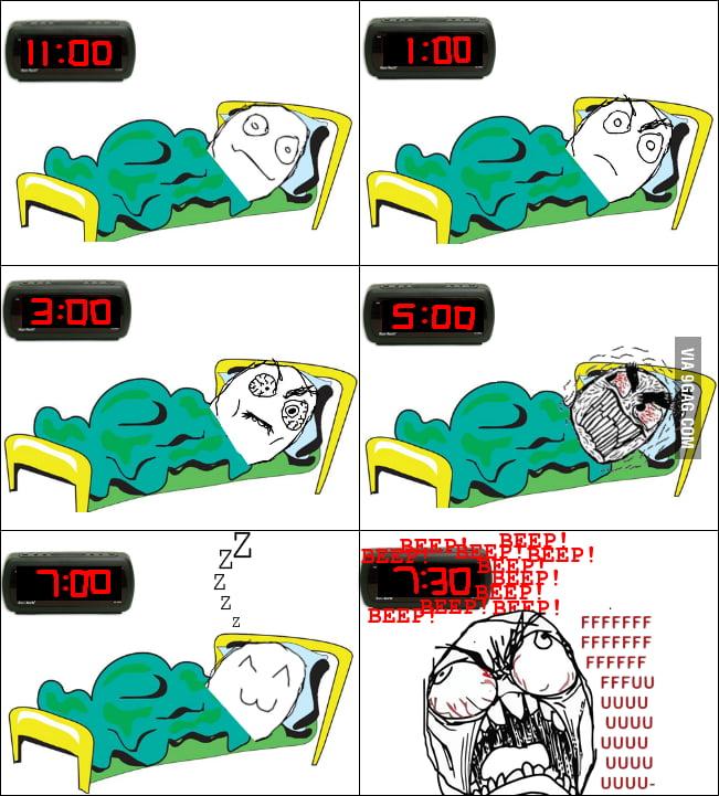 Insomnia rage