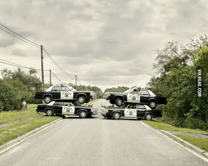 Roadblock like a badass