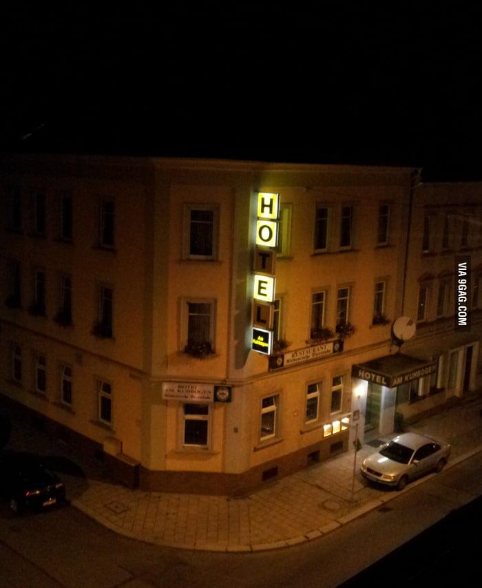 A Ho(e)tel in Germany