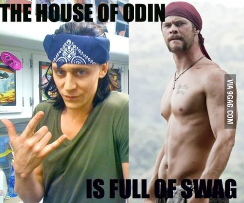 The house of Odin is full of SWAG