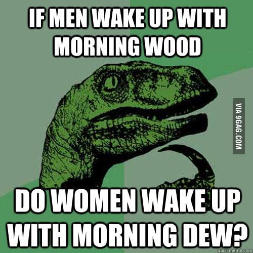 Something I always wondered about women