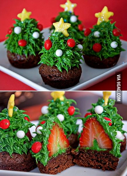 I would eat these Christmas trees!