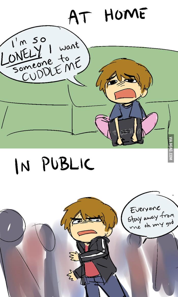 I want companionship but I hate people