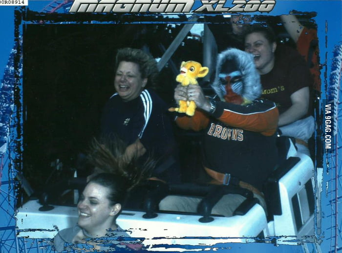 Meanwhile on the roller coaster