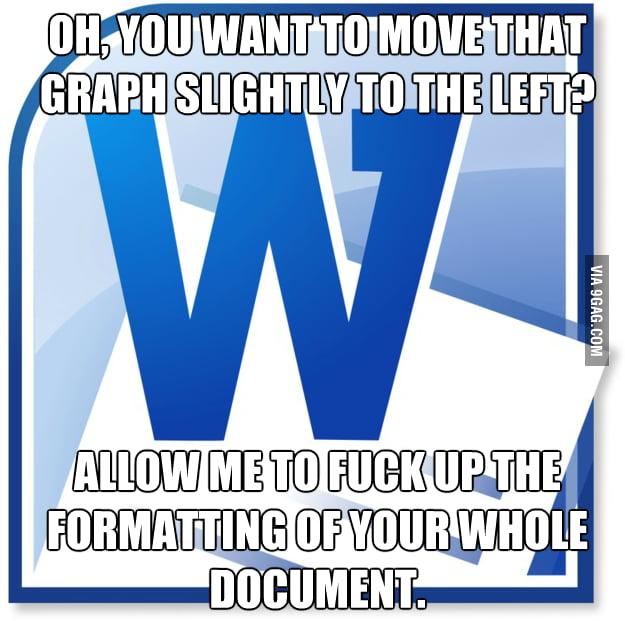 Scumbag Microsoft Word