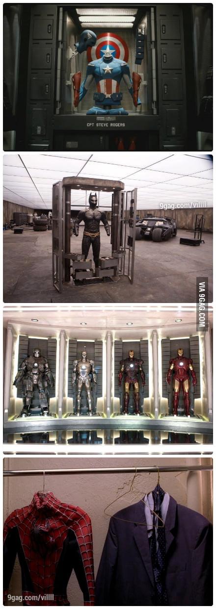 Superheroes' Wardrobes