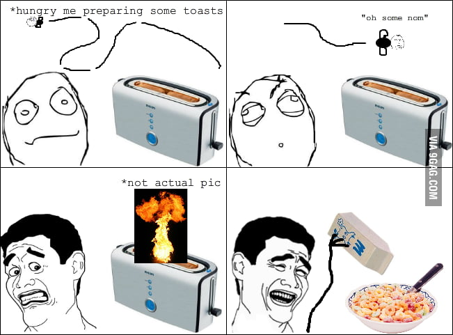 Toaster rage