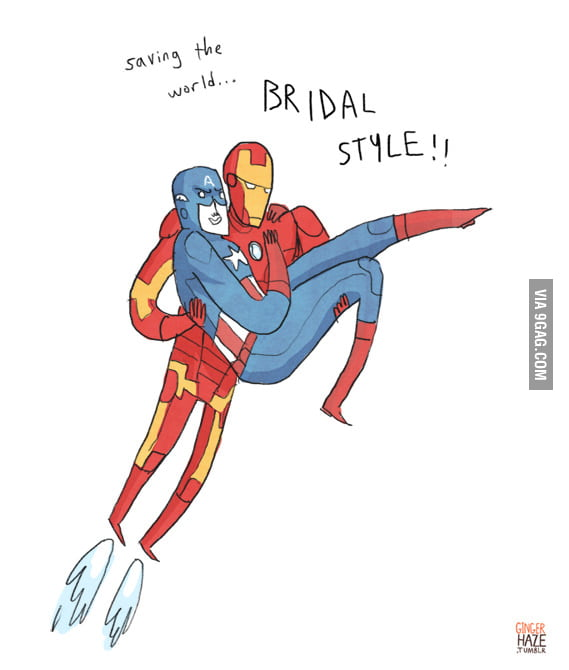Saving the world... Bridal Style!
