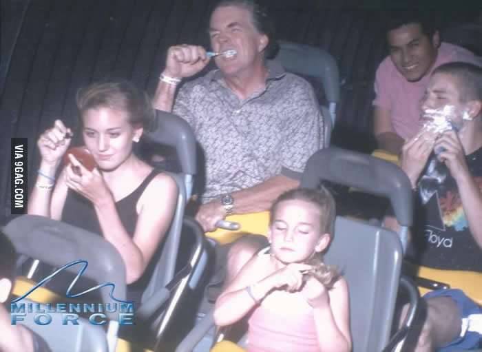 Just a morning roller coaster photo.