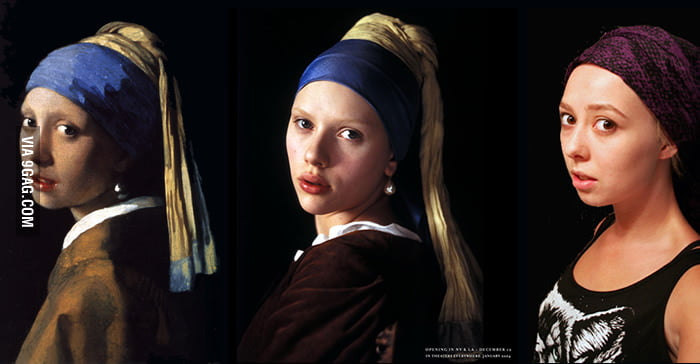 The Girl With The Pearl Earring. Who is more alike?