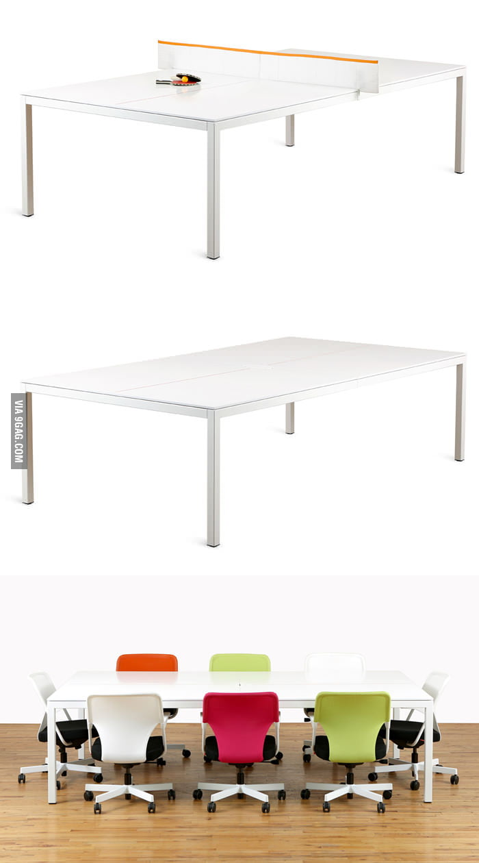 Ping-Pong Conference Table