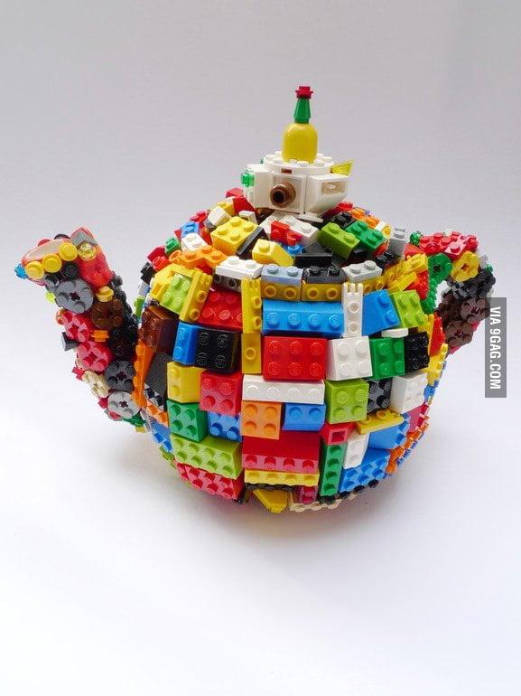 Lego teapot!