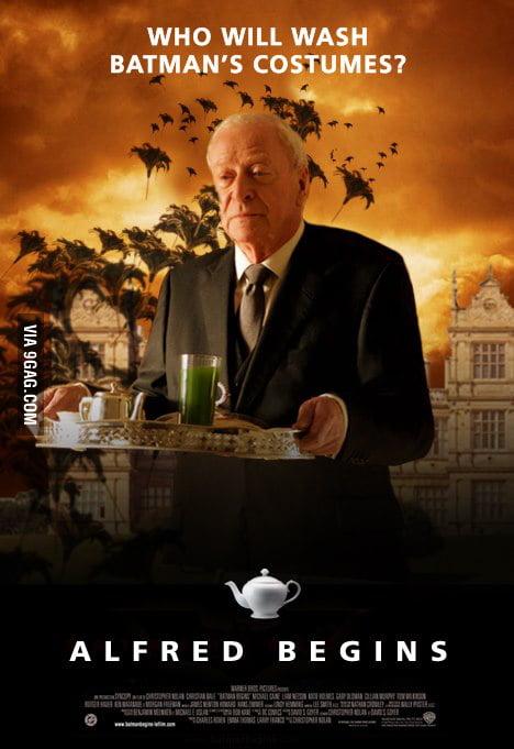 Alfred Begins - The Dark Butler Rises