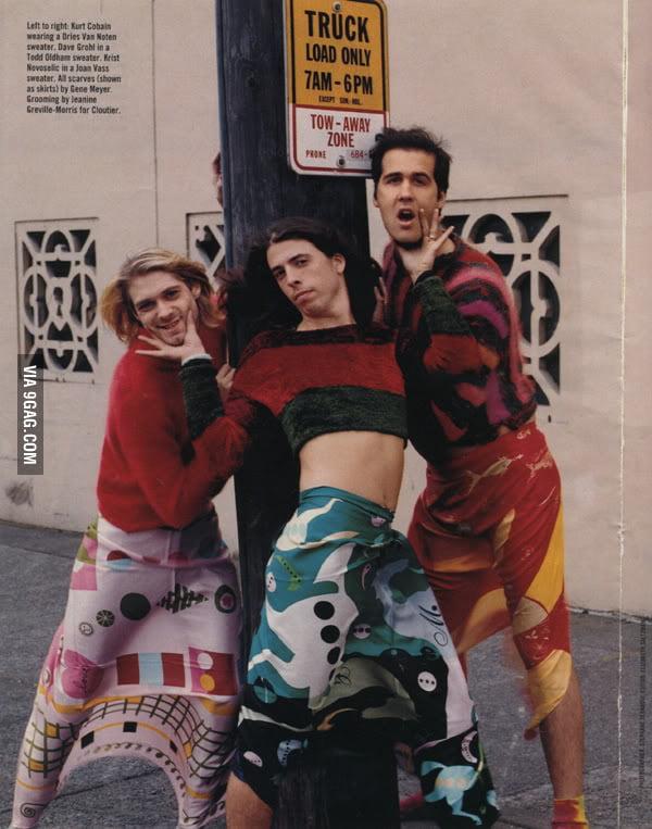 Nirvana looking fabulous!
