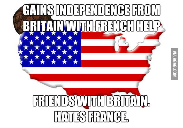 I don't understand why Americans don't like French.