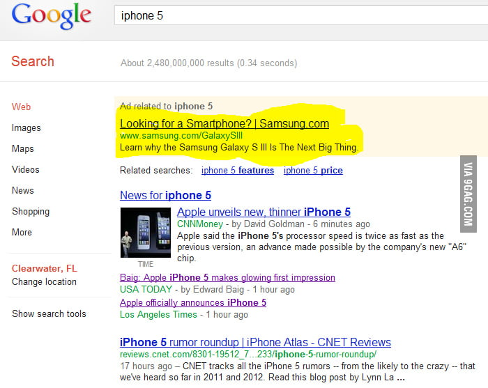 Well played Google/Samsung... Well played.