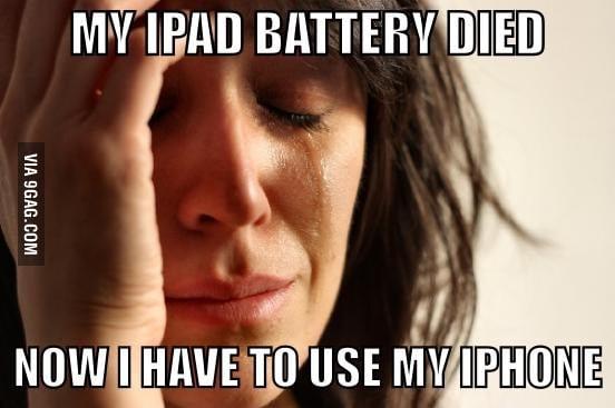 First World Apple Problem