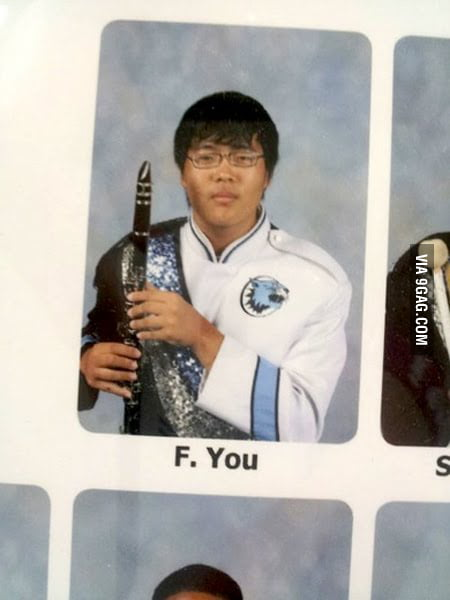 Best name in a yearbook ever!