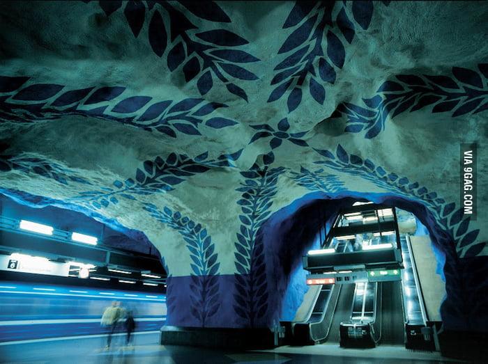 Just Stockholm Metro Station