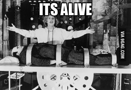 How I feel after getting my computer back from repair