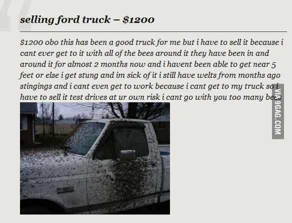 Will you buy this truck?