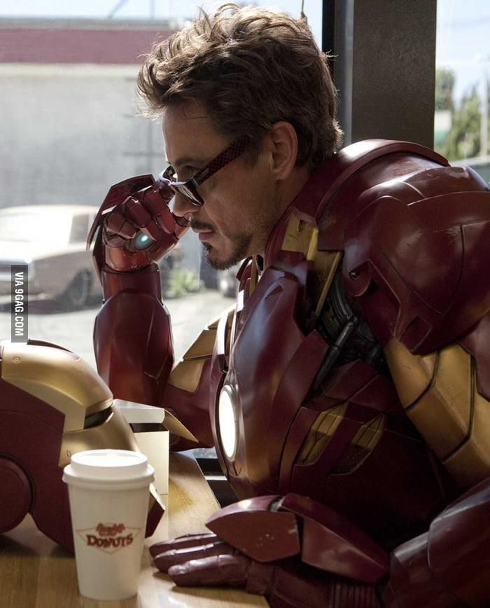 A photo of Tony Stark