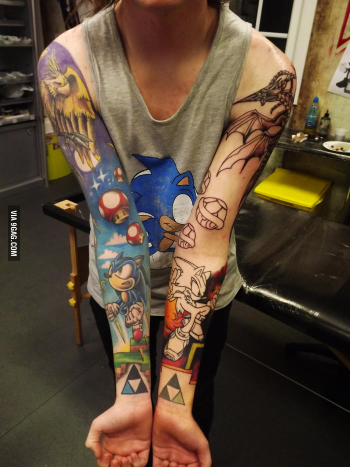 Awesome Sonic Tattoos