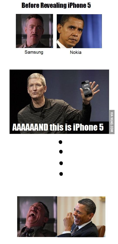 Samsung and Nokia Reaction