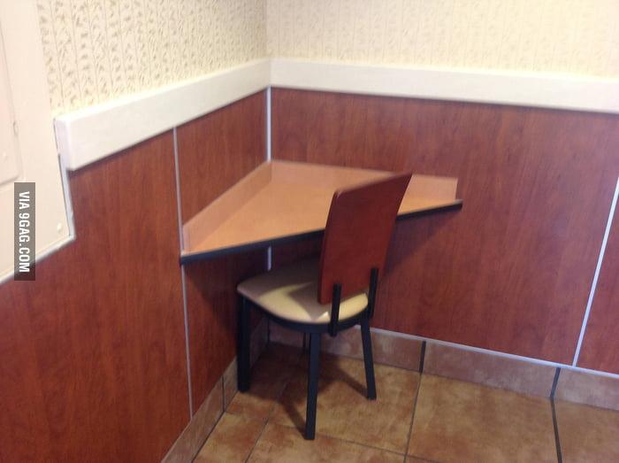 McDonald's Forever Alone Corner