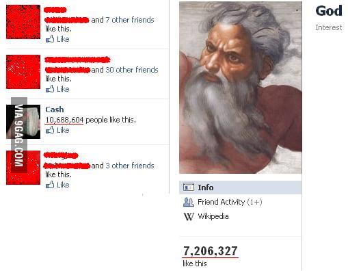 God vs Cash