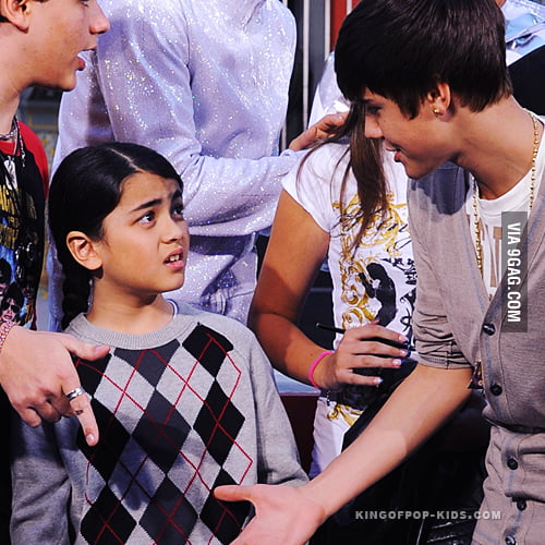 Michael Jackson's son refused to shake Justin Bieber's hand.