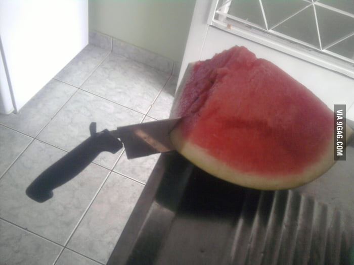 Well, f**k you too watermelon
