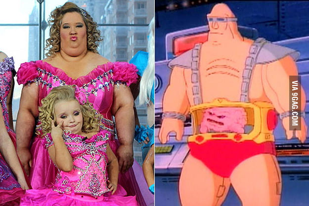 Krang from TMNT exists!