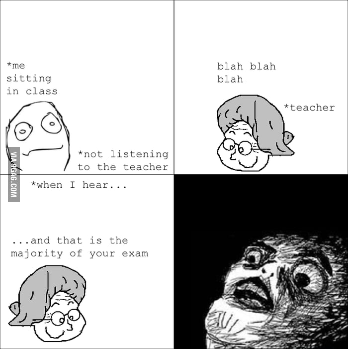 Why I should listen in class.