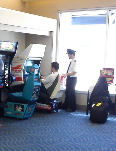 Pilot training in progress.